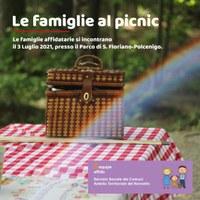 Le famiglie al picnic
